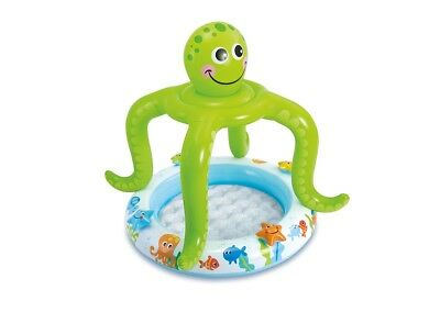 Intex Kinderpool Kraken octopus with Sun protection Paddling pool with
