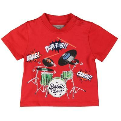 Bóboli Children T-Shirt Drums/percussion red sz. 74 - 92