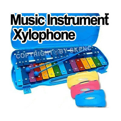 Music instrument 25 Notes Glockenspiel Xylophone