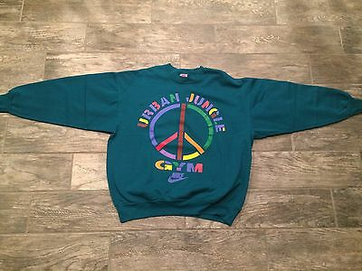 Vintage 90's Nike Urban Jungle Gym Sweatshirt size XL