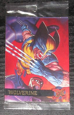 1995 Fleer Ultra X-Men Wolverine WAL-MART PROMO Card in Sealed Pack NM/M RARE!