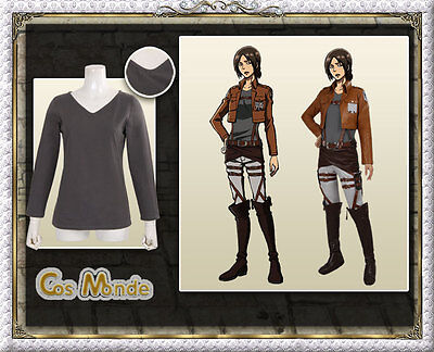 Attack on Titan Shingeki no Kyojin  Yumir  Recon Corps cosplay Costume