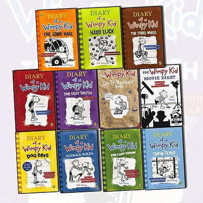 Diary of a wimpy kid collection 11 books set pack 1 11 by jeff diary of a wimpy kid collection 11 books set pack 1 11 by solutioingenieria Choice Image