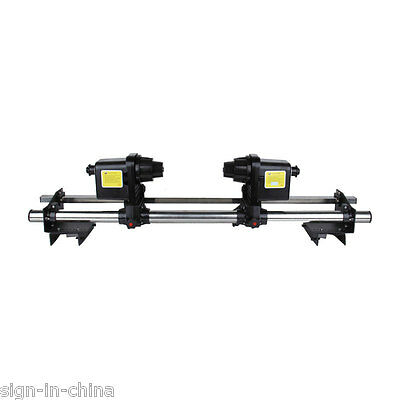 """54"""" Automatic Media Take up Reel SD54 for Mutoh / Mimaki / Roland+Two Motors"""