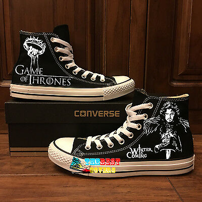 CONVERSE ALL STAR GAME OF THRONES fantasy Tv series hand
