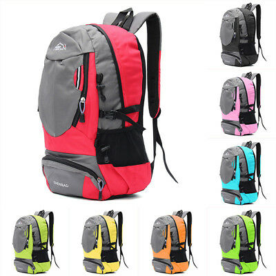 35L Unisex Travel Camping Sport Hiking Daypack Rucksack Outdoor School Backpack