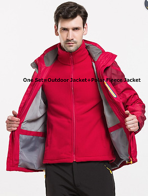 New Men's Foray Outdoor Jacket & Polar Fleece Jacket Set Quality Guaranteed