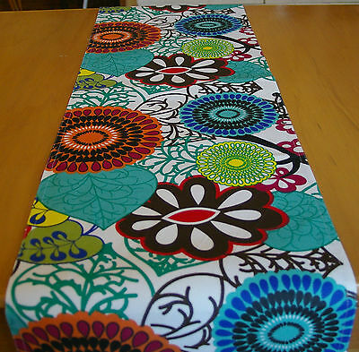 "Table Runner ""africa"" 180Cm Long - Fabulous Retro Pattern"