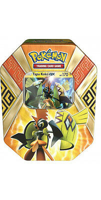 Pokemon TCG: Island Guardians Summer Tin - Tapu Koko