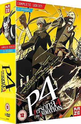 Persona 4 The Animation - Complete Season Box Set (Episodes 1-25) (DVD)