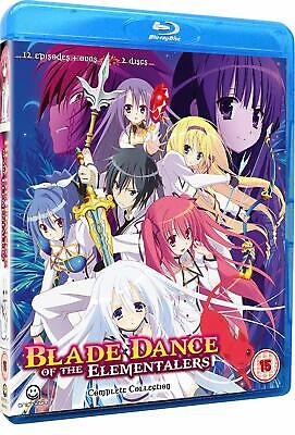 Blade Dance Of The Elementalers Complete Season 1 Collection (Blu-ray)
