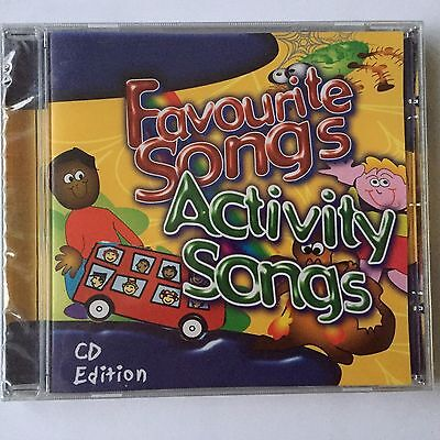 CD FAVOURITE ACTIVITY SONGS, Sing a Rainbow & More 31 Songs Babies/Toddler (D)