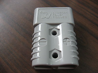 NNB Anderson SB175 Gray Forklift Battery Connector (HOUSING ONLY, 175A, 600V)