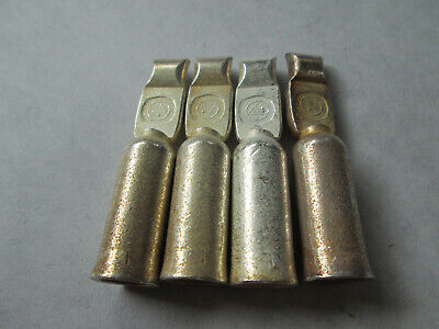2 New Anderson SB120  SB/PP 120 Forklift Battery Connector Contacts (120A, 600V)