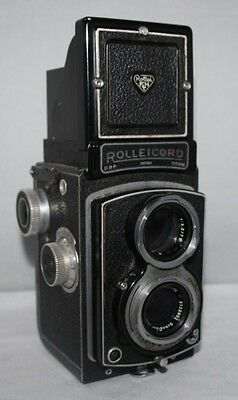 Rolleicord III Model K3B - 1950 120 Film TLR Camera - Xenar 75mm f/3.5 Lens