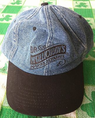 Dr. Mcgillicuddy's Schnapps / Vintage Jean Baseball Cap / Hat Great Condition