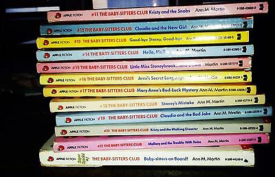 10 Baby Sitters Club Books for $11 and Free Shipping!