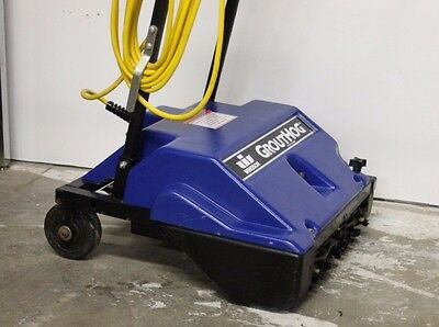 Blue Commercial Winsor Grouthog Tile And Grout Cleaning Machine Model