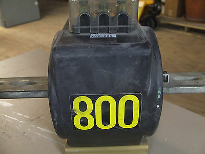 Westinghouse Type CMF Current Transformer 800 Amp, 7525A01G10, Used