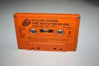 ROLLING STONES Time waits for no One Anthology 1971-1977  MC Kassette WEA