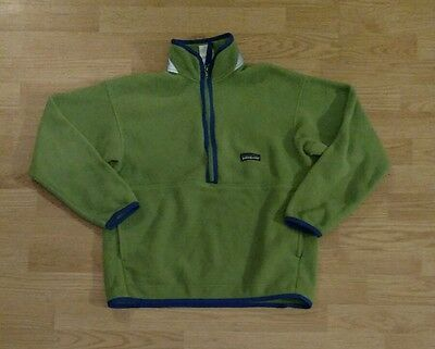 PATAGONIA Synchilla Fleece Jacket Kids size Large/12 Half-Zip Pullover