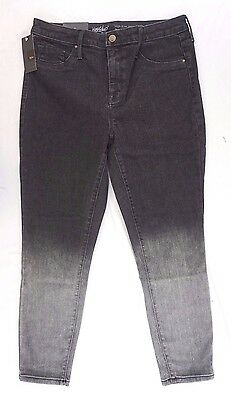NWT Mossimo Women's Gray Ombre High Rise Skinny Jeggings Sz 10S, 10L, 12S, 14L