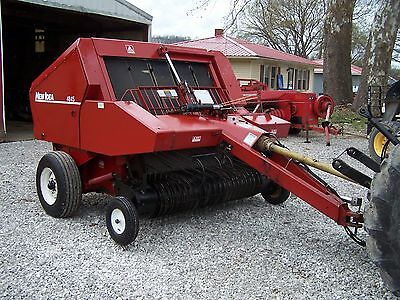 Agco New Idea 4845 Round Baler size 4x5, CAN SHIP @ $1.85 loaded mile
