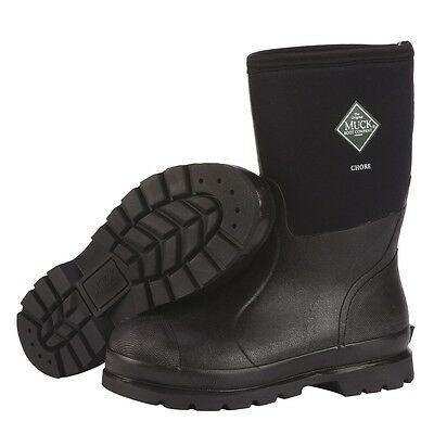 Muck Boots CHM-000A Men's Chore Classic Mid Rubber Boots