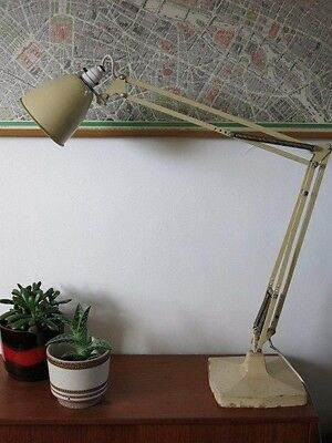 Vintage Herbert Terry Anglepoise 1209 Large Industrial 20th Century Desk Lamp