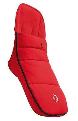 NEW Bugaboo Stroller Footmuff RED Fits ALL Donkey Cameleon Buffalo Bee UNIVERSAL