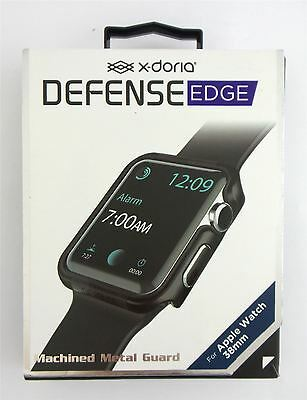 X-Doria Defense Edge Case for Apple Watch 38mm Machined Metal Black New