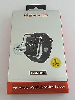 Zagg InvisibleShield Screen Protector for Apple Watch 38mm A38BGS-BK0 New