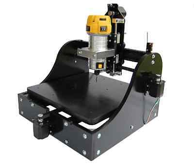 Millright CNC Machine Kit 3 Axis in Black - CNC Router and PCB Milling US Seller