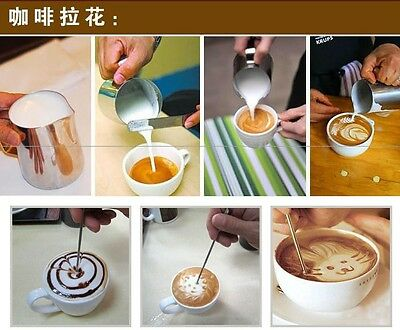 Barista Coffee Cappuccino Latte Decorating Art Pen Stainless Steel Kitchen Tool