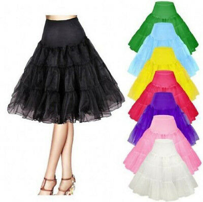 "26"" Vintage Petticoat Crinoline Underskirt Fancy Skirt Slips 50s Tutu dress"
