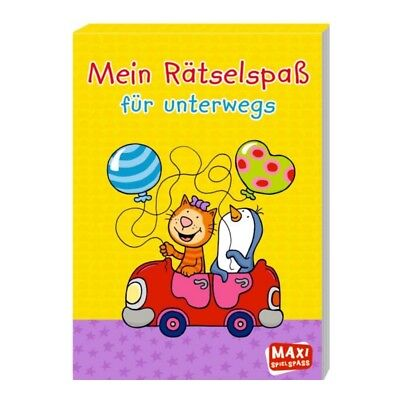 maxi-spielspass My Puzzle Fun for on the Go Children's rätselblock from 4 years