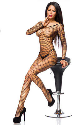 Netz-Bodystocking