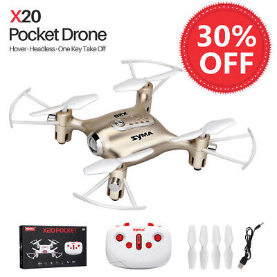 Syma X11 2.4G 6-Axis Gyro RC Quadcopter UFO Drones 360° Rolling Kids Helicopter