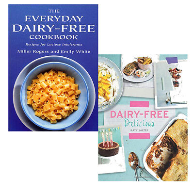 Everyday Dairy-Free Cookbook & Dairy-Free Delicious Collection 2 Books Set New