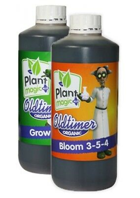 Plant Magic Plus Old Timer Grow & Bloom 1L Pack Hydroponics Free Delivery
