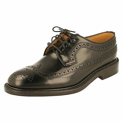 Men's Loake Brogue Shoes - Royal