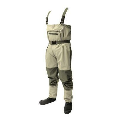 Light-Weight Feather Fishing Wader Breathable Chest Waders for Fly Fishing