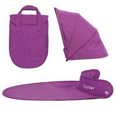 BRAND NEW BabyStyle Oyster Carrycot Colour Pack grape / purple