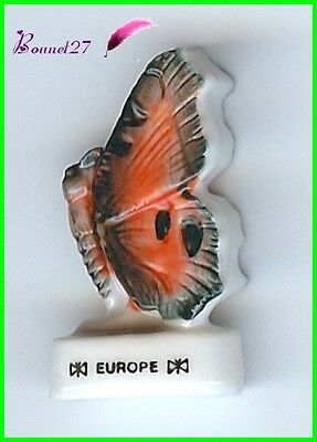 "Feve Collection Edition Atlas Papillon Butterfly "" Le Europe "" #D22"