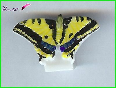 "Feve collection Edition Atlas Papillon Butterfly "" Le Machaon "" #D36"