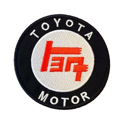 Toyota Patch Black + Red Embroidered Badge Japanese Motor Racing Jacket Costume