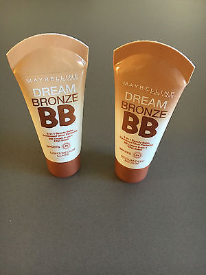 MAYBELLINE DREAM BRONZE 8-in-1 BB SPF25 - CHOOSE YOUR SHADE