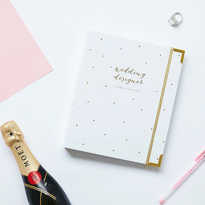 NEW Wedding Planner Organiser Book Women's by Amelia Lane Paper