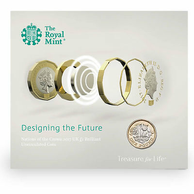 The Royal Mint Nations of the Crown 2017 UK £1 BU Coin - UK17D1BU
