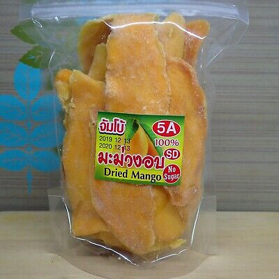Dried Thai Mango Soft Snack ,no added sugar ,950g.  shipping from Thailand